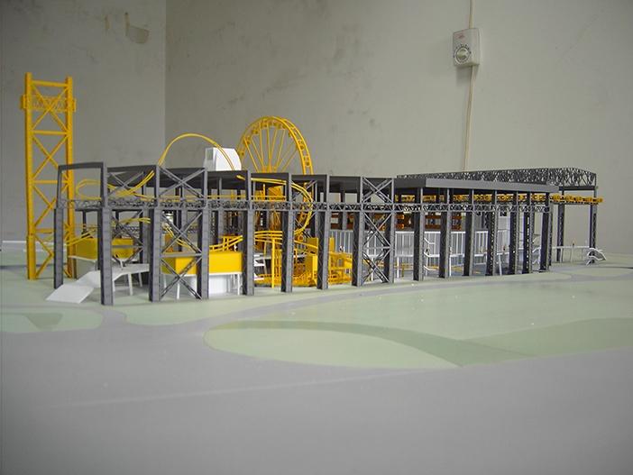 厂房内部模型